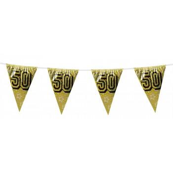 Banderin Triang. Nº50 Oro