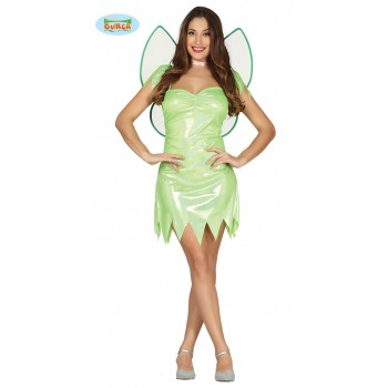 DISF.CHICA FAIRY VERDE T-L