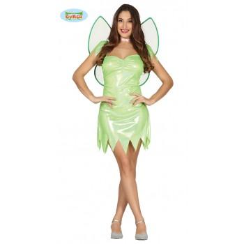 Disf.Chica Fairy Verde T-L