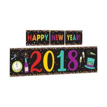 P/5 Deco.Pared 2018 New Year