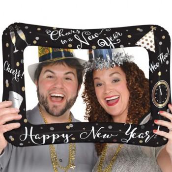 Globo Marco Happy New Year