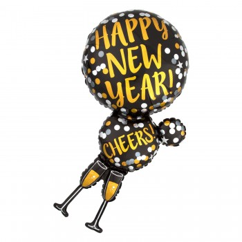 Globo Copas Happy New Year