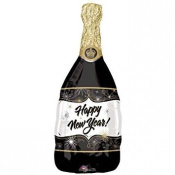 Globo 91Cm Botella Champagne