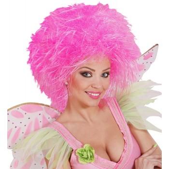Peluca Fairy Rosa Fluor