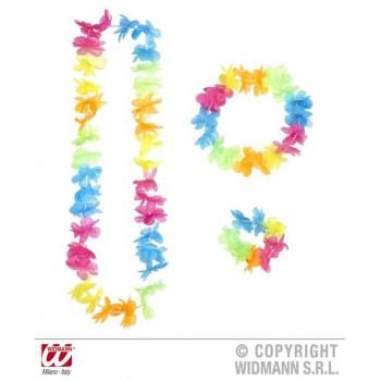 Set Hawaiano Multicolor Brilla