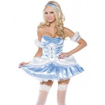 Disf.Princesa Azul Sexy T-L