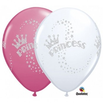 "Globo 11""Latex Glitter Princes"