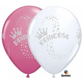"Globo 11""Latex Glitter Princes"