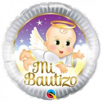"Globo 18""Mi Bautizo Angelito"