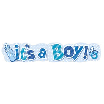 Cart.It''s A Boy Biberon Celest
