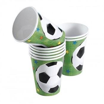 P/8 Vasos Futbol Champion Socc