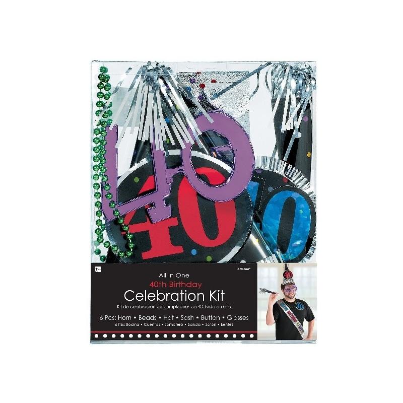 Kit Fiesta 40 Cumpleaños
