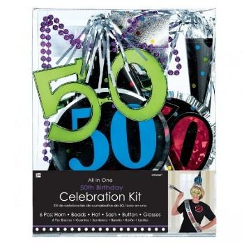 Kit Fiesta 50 Cumpleaños