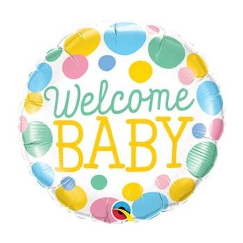 "Globo 18""Welcome Baby Topos"