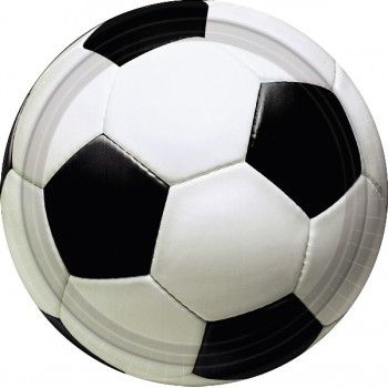 P/8 Plato 18C Pelota Futbol