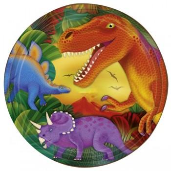 P/8 Plato 23Cm Dinosaurios