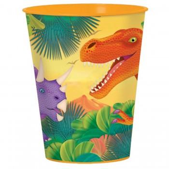 Vaso Rigido Dinosaurios