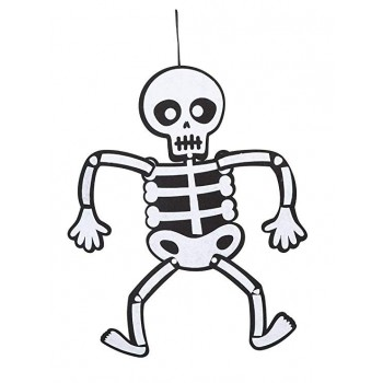 Movil Esqueleto Fieltro 51Cm