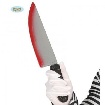 Cuchillo C/Sangre 37Cm