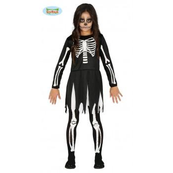Disf.Inf.Niña Skeleton 10-12A