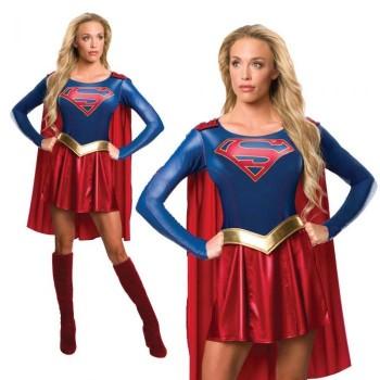 Disf.Supergirl Tvs T-S