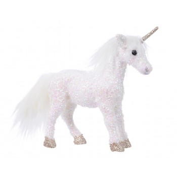 Unicornio 30Cm Foam Purpurina
