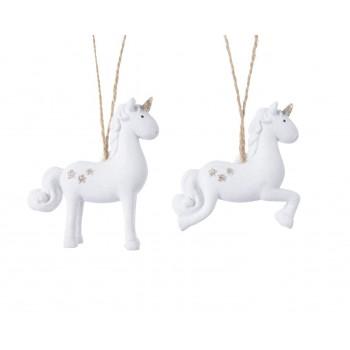 Colg.Unicornio Blanco Surt.