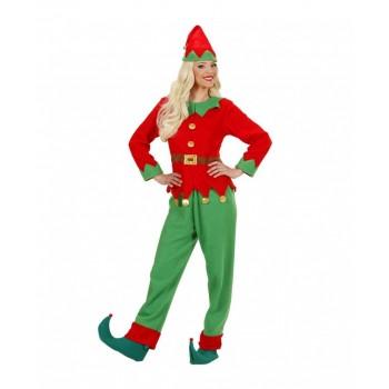 Traje Elfo Ayte Santa T-S