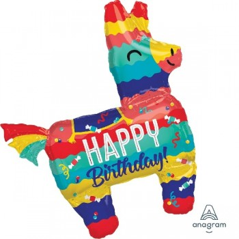 Globo Piñata Happy Birthday