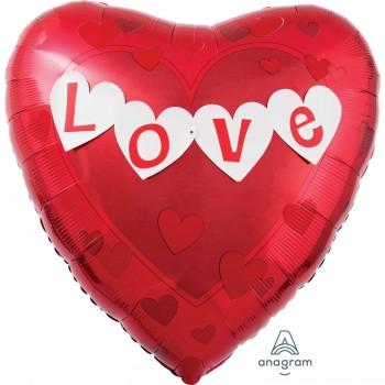 Globo Corazón Banner Love