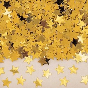 Confetti Estrellas Oro