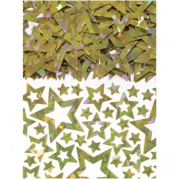 Confetti Estrellas Brillo Oro