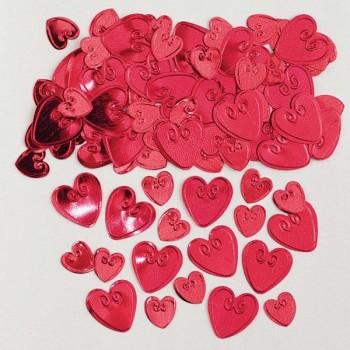 Confetti Corazones Rojo 14Gr