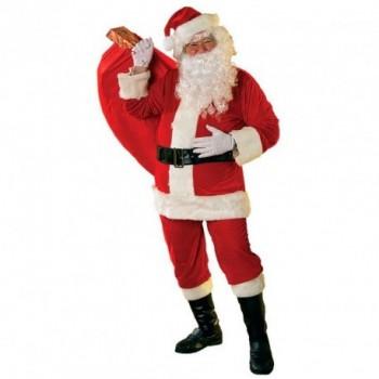 Disf.Papa Noel Premium Adulto