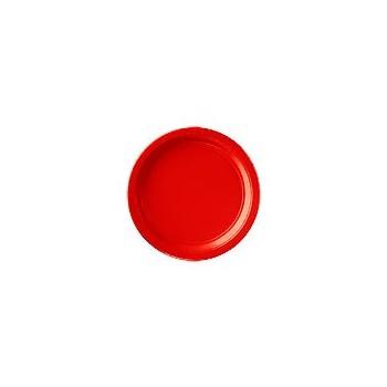P/8 Plato 23Cm Rojo Carton