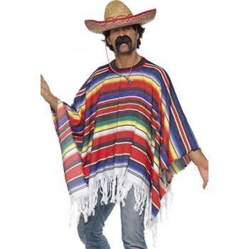 Poncho Mejicano Multicolor