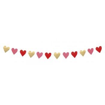 Guirn.Corazones Love 2M