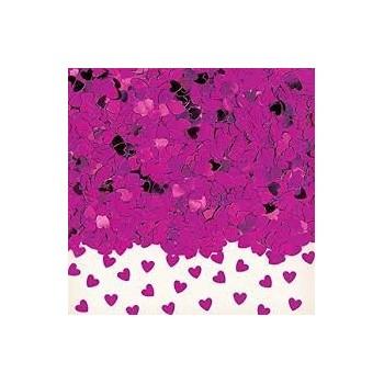 Confetti Corazones Peq.Rosa