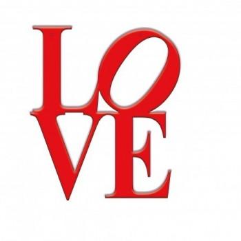 Super Silueta Love 100Cm