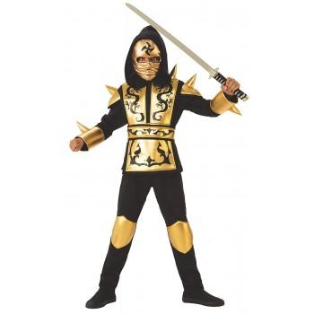 Disf.Inf.Ninja Dragon Gold