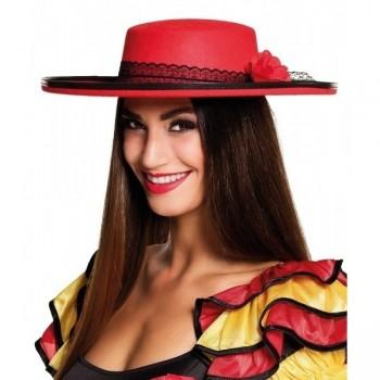 Sombrero Rojo Señorita