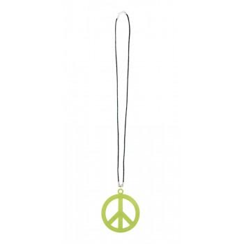 Collar Simbolo Hippie Color