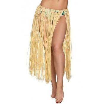 Falda Hawaiana Natural 80Cm