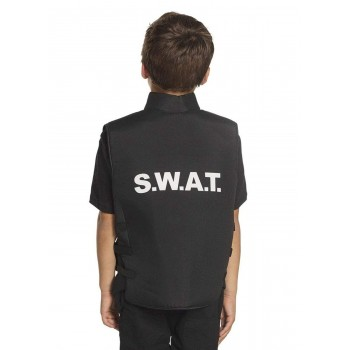 "Chaleco Inf.""Swat"" 5-10Años"