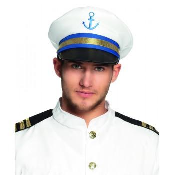 Gorra Capitan Marinero Ancla