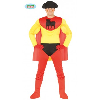 Disf.Superheroe Español T-L