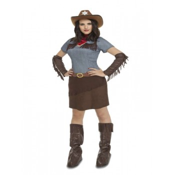 Disf.Cowgirl T-S