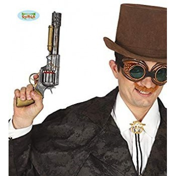 Revolver Steampunk 30Cm