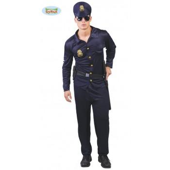 Disf.Hombre Policia T-Xl