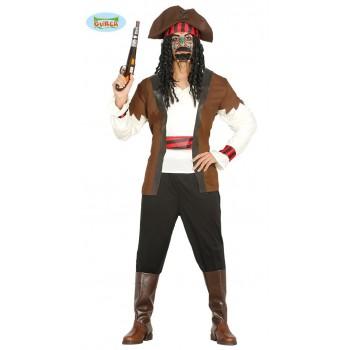 Disf.Chico Pirata 7 Mares T-Xl